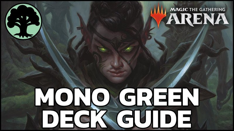 [MTG Arena] The Green Machine - Mono Green Deck Guide