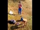 Взял жену на рыбалку 😂
