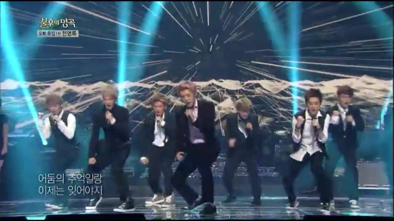 130831 EXO - It's Still A Dark Night (Jeon Young Rok Cover) @ Immortal Song 2