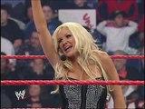 Trish Stratus &amp Lita Make Their WWE Return - Raw 15th Anniversary - 2007