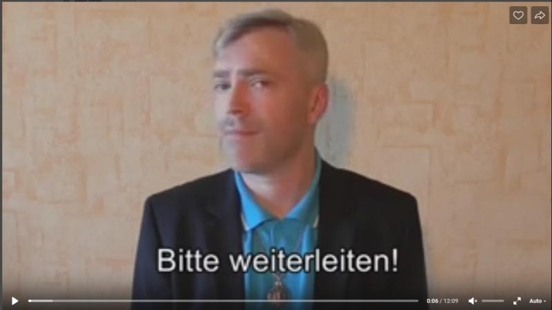 Ansage an Stefan Müller sowie Hagen Grell bzgl. Peter Schmidt