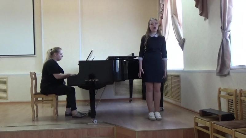 Ревтова Дарья ( сопрано) Р-н-п