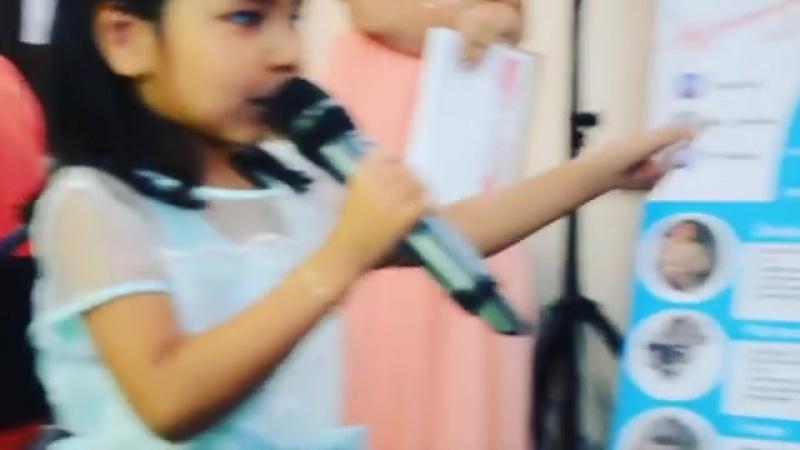 D.a__production II отчетный концерт музыкальный школы DANALI (10.06.2017г) Самая новенькая 5 летняя талантливая, обоятельная девочка Ерболат Ания за неделью выучила песню, и первый раз перед публикой выступила абсолютно без страха😊😇👏👏👏🏆 Педагог Карлыгаш Сабдалинова. daproductiondanaliproductiondaproductionvocalmuzicданалимузыкамектебімузыкальнаяшколапродюсерсикйцентрконцертотчетныйконцерт