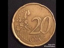 20 Euro Coins VIDEO монеты Европы 20 Евро центов 1999 года