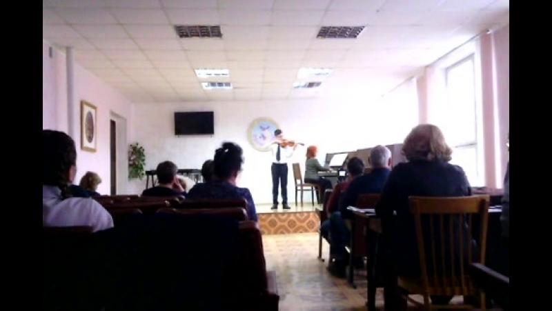Тохтаров Руслан на конкурсе Музыкальный рассвет-2018 в г. Красноперекопск.III место.