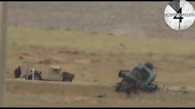 Подрыв Хамви в Афганистане боевиками узбекской группировки союзной Талибам