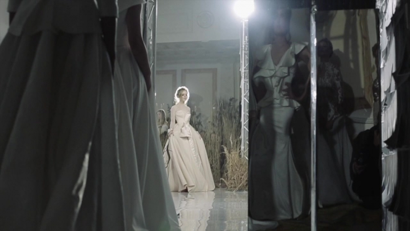 Технический Backstage с закрытого показа White Sposa Fashion Day