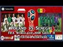 Poland vs Senegal | FIFA World Cup 2018 Group H | Match 16 Predictions FIFA 18