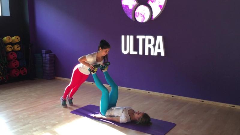 Ultra-тренировка с Ксенией Бочуриной и Линой Маковецкой