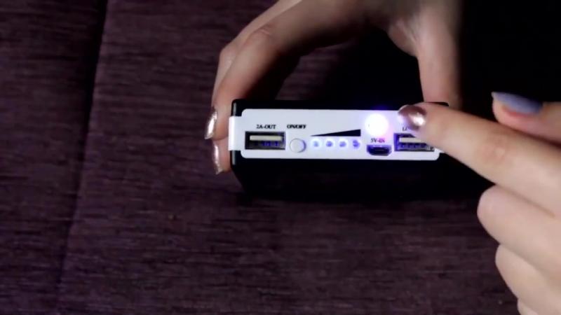 Видеообзор Power Bank 20000 mAh на солнечных батареях внешний аккумулятор для те