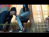 Worship gagging black and white peds socks Chinese girl