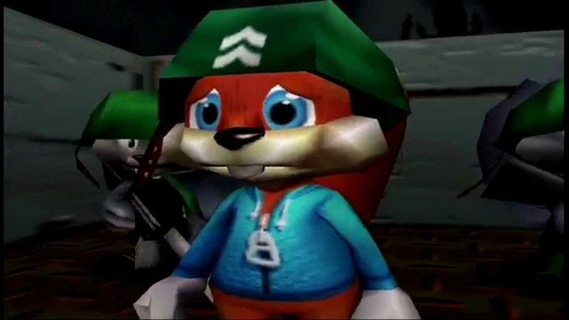 Saving Conker's Privates (Bad Fur Day) N64