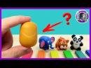 КИНДЕР ЯЙЦА И ПЛАСТИЛИН. ПОДЕЛКИ ДЛЯ ДЕТЕЙ. Лепка из пластилина Kinder surprise egg and plasticine