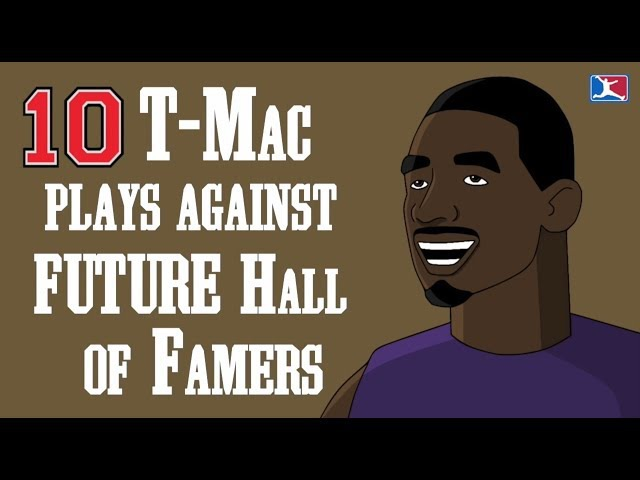 10 of Tracy McGrady's Best Plays Against FUTURE Hall of Famers