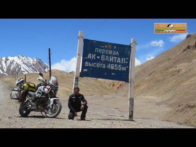 In moto sul Pamir. lungo la famosa M.41 Film completo S.G. PASSIONE AVVENTURA