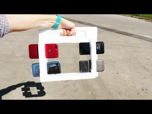 тест камер топовых смартфонов iPhone 7, Pixel, U11, Mi6