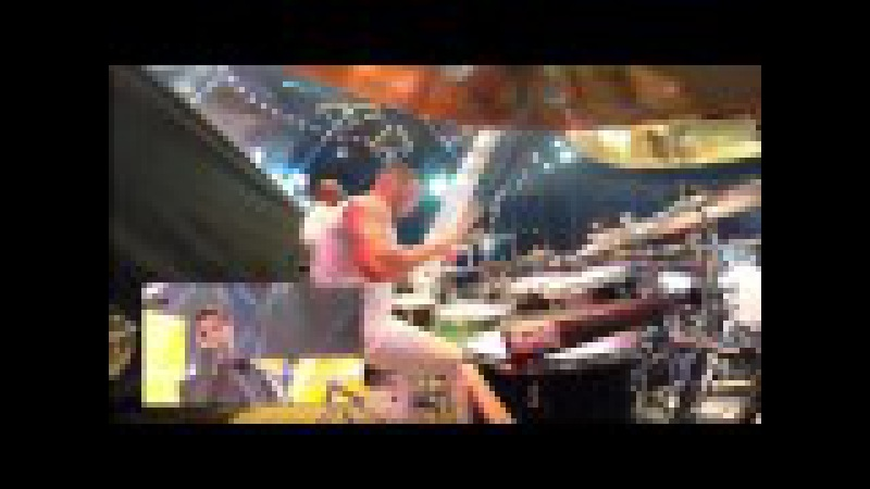 Ricky Martin Living La Vida Loca Viña del Mar DrumSet View