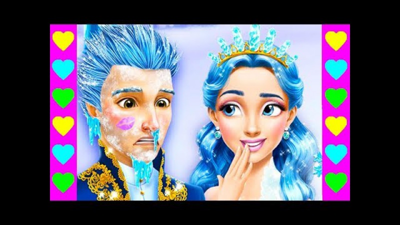 ГОТОВИМСЯ К КОНЦЕРТУ ПО-КОРОЛЕВСКИ! Мультик про салон красоты для принцесс и при...