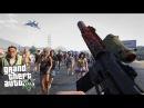 GTA 5 Зомби Апокалипсис 24 - ОТ ПЕРВОГО ЛИЦА!! ГТА 5 МОДЫ