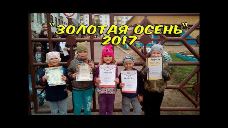 Золотая осень 2017 кросс.Город Архангельск