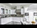 Белые кухни Подборка Современные Красивые Глянцевые Классика