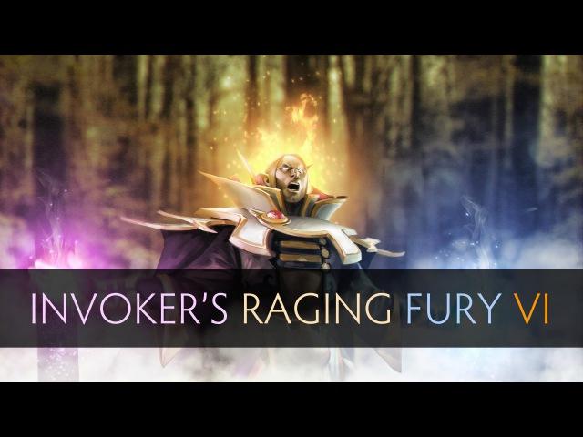 Dota 2 Invokers Raging Fury 6