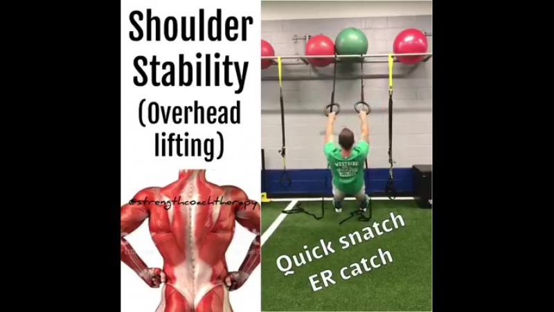 Shoulder Overhead Stability✅