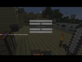 Стрим Minecraft Приватный сервер!