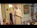 Проповедь священника Владимира Смирнова 19 августа 2017 г. в Праздник Преображения Господня в храме Рождества Христова г.Могоча.