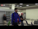 Российские волейболисты-чемпионы прилетели в Москву