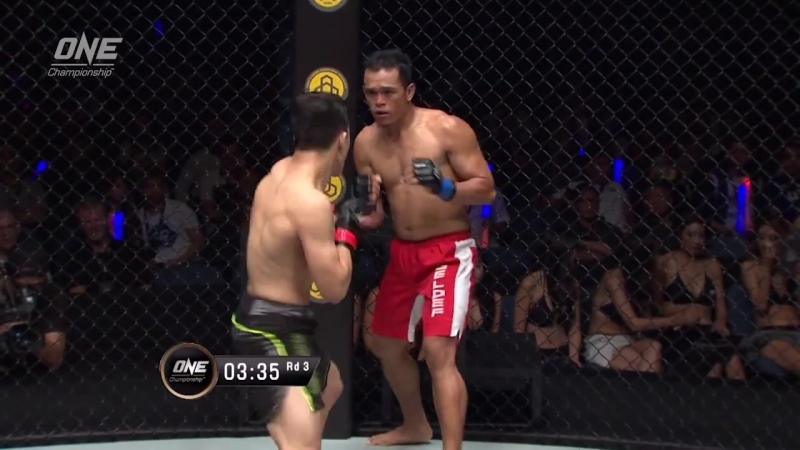 Jia Wen Ma defeats Jimmy Yabo via KO/TKO at 2:31 of Round 3