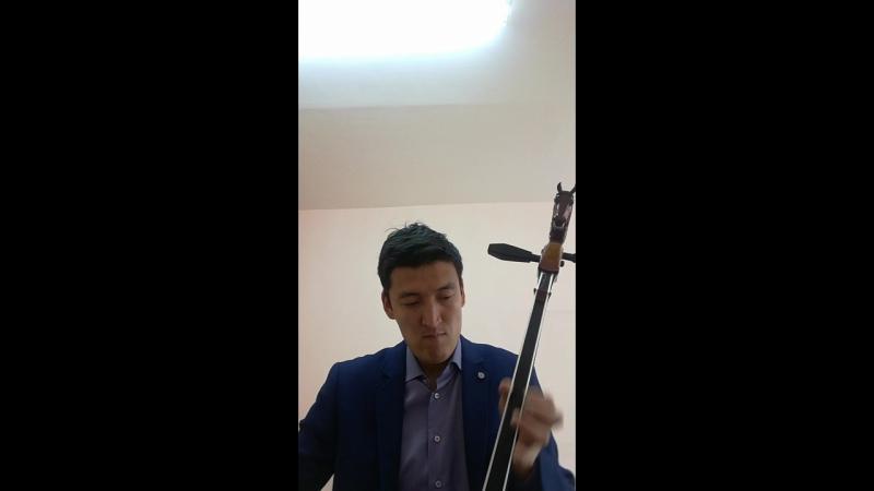 Монгол ардын дуу Цонхон дээр суусан ялаа Моринхуур