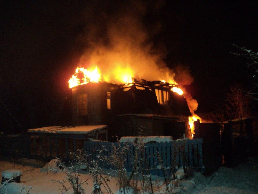 Два пожара произошли в Томской области за сутки