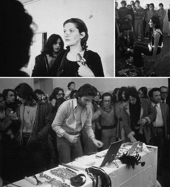 В 70-х годах Марина Абрамович провела эксперимент: