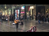 Ky Baldwin busking covering Price Tag from Jessie J ft B.o.B