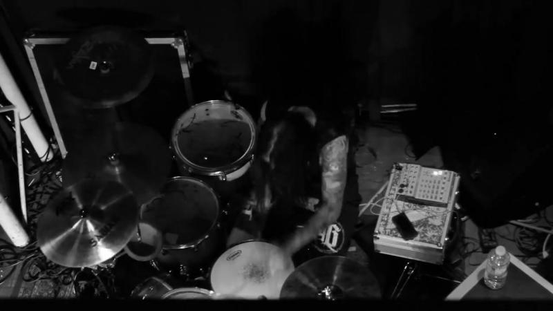 BLACK TONGUE - WASTE - Aaron Kitcher Drum Cam - Andrew Baena