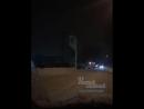 Солярис врезался в щит с ценами на заправке Башнефть 19 1 2018 Ростов на Дону Главный
