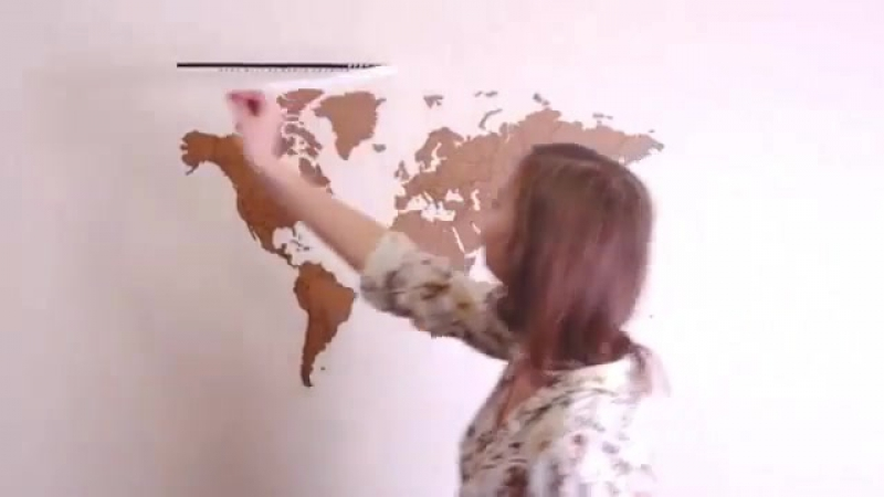 World Map True Puzzle - большой, детализированный пазл в виде карты мира.