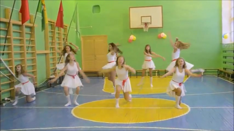 Поставили с девочками танец под музыку Тодес - Танец это жизнь
