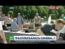 Расплескалась синева_ пьяный десантник напал на корреспондента НТВ в прямом эфир