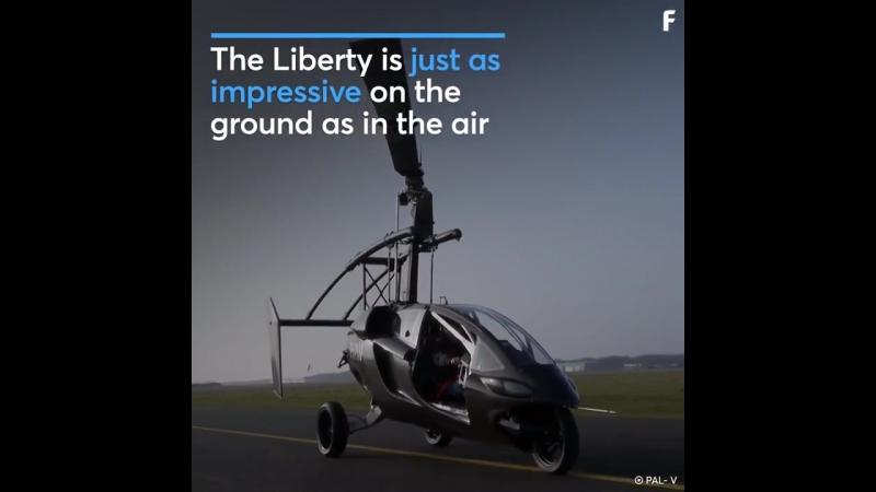 PAL-V Debuts Flying Car