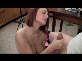 Gropes big tits girlfriend sister