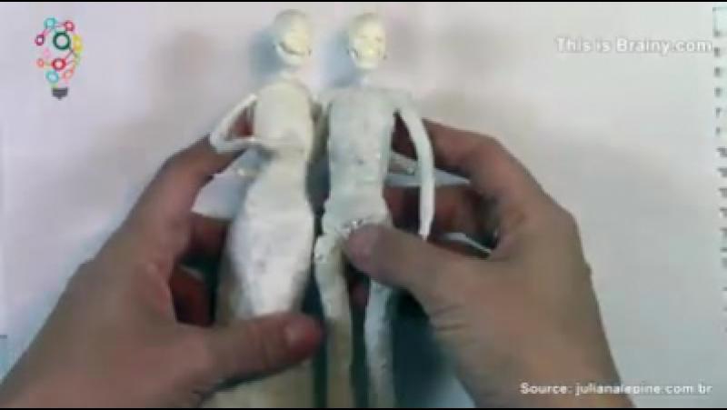 Amazing handmade wedding cake toppers