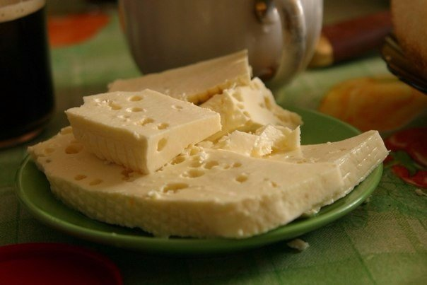 Домашний сыр. Не то, что в магазине!