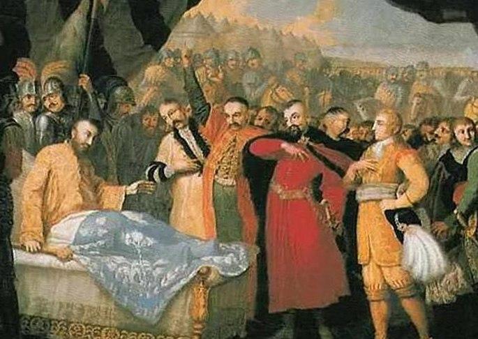 Смерть гетмана Сагайдачного