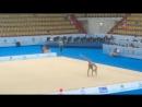 Полина Хонина мяч контрольная тренировка World Challenge Cup 2017 Казань
