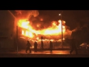 Крупный пожар в Чехове