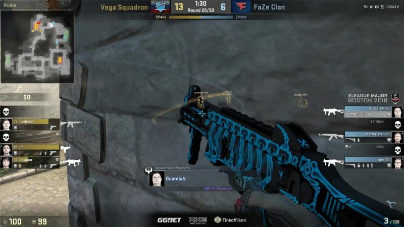 Vega vs. FaZe rush B