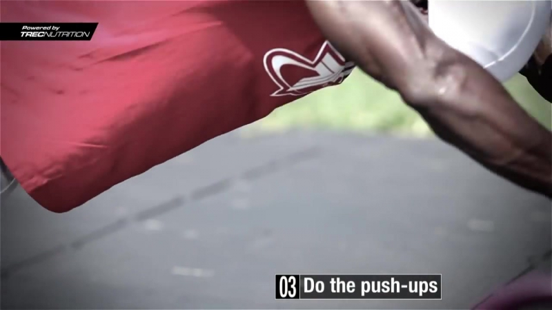 Modified LaLanne push ups Street Workout Training Hannibal For King