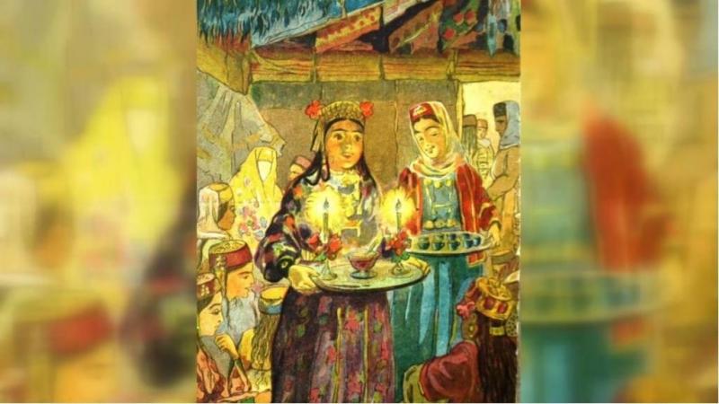 Крымские степняки делали свечи из бараньего жира